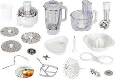 Virtuvinių kombainų priedai